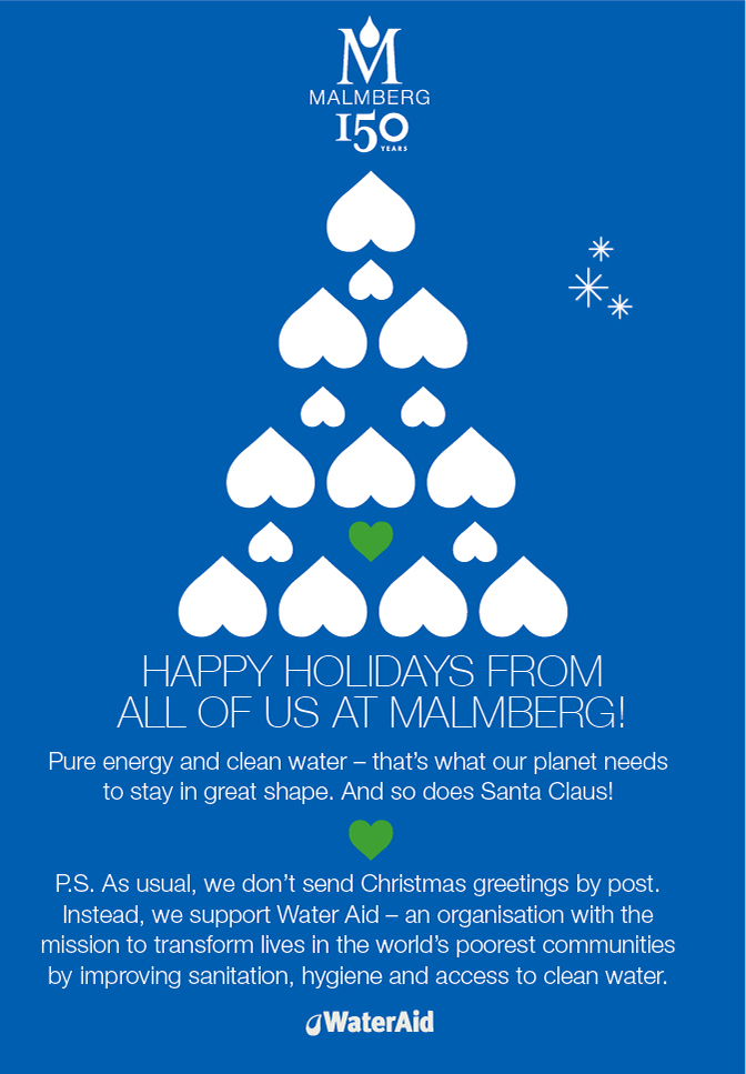 Happy Holidays from Malmberg