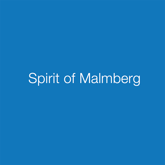 Spirit of Malmberg brochure front