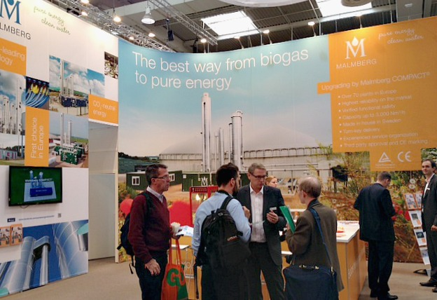 Malmberg biogas at Agritechnica