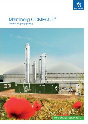 Malmberg Biogas broschure front page