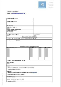 Malmberg Service order template